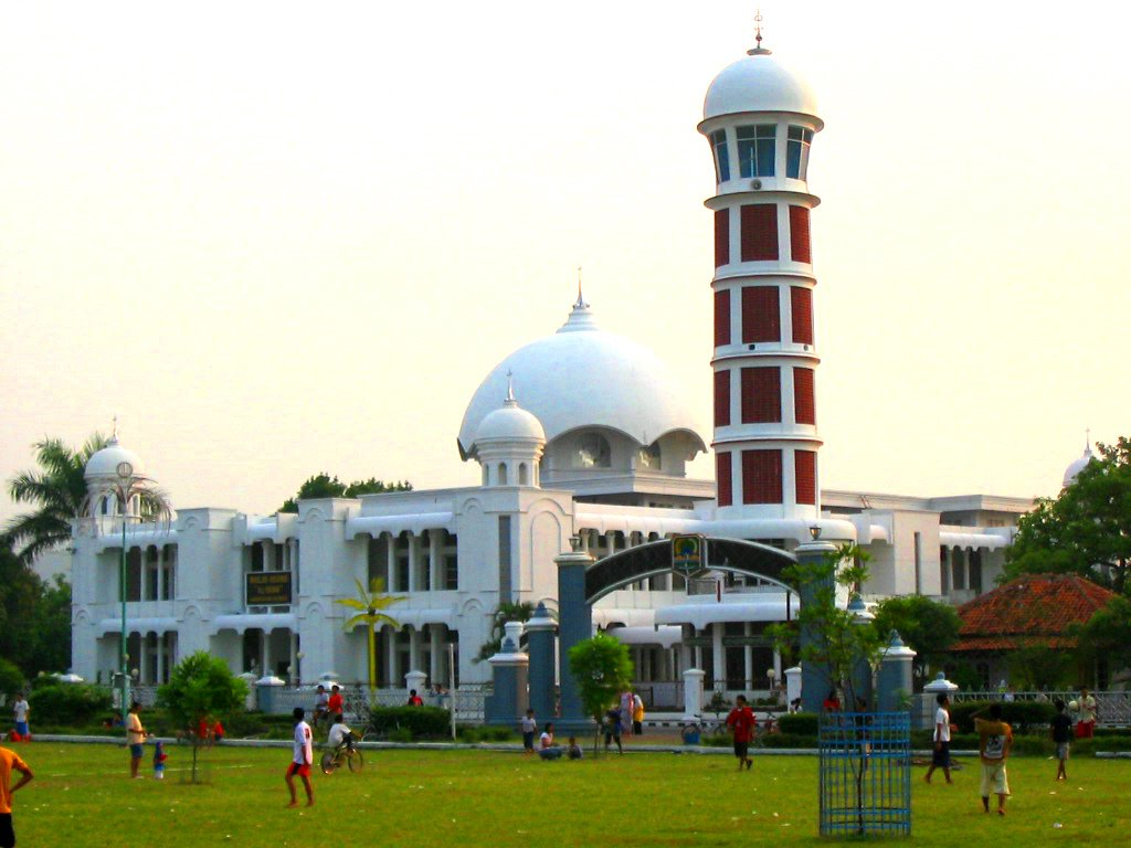Masjid Agung Majalengka Indonesia Masjids Mosques Pinterest Kediri Kab