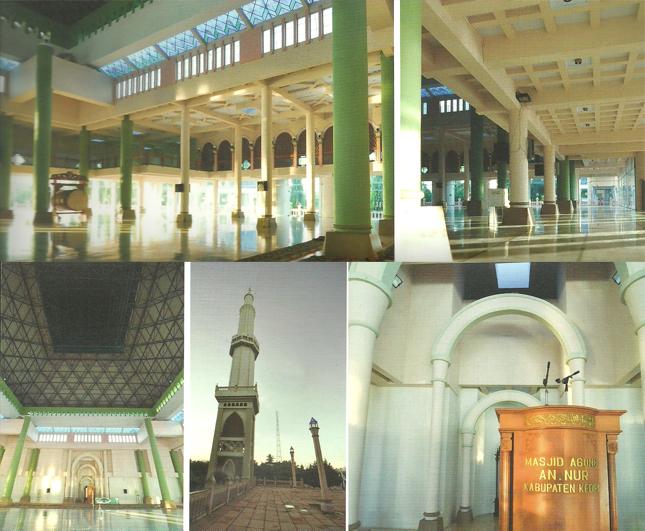 Masjid Agung Nur Pare Dunia Jakarta Islamic Centre Nuur Kediri