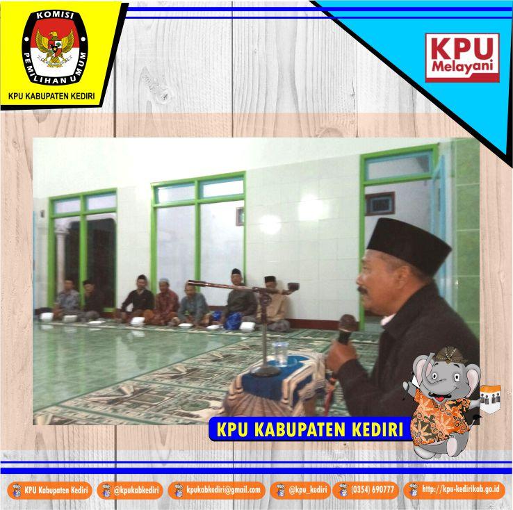 Penuhi Undangan Musyawarah Pimpinan Masjid Mushola Syamsuri Diminta Sosialisasi Agung