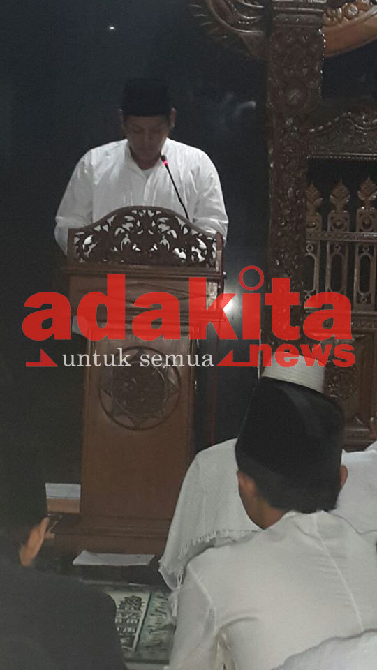 Sambut Awal Hijriah Doa Bersama Masjid Agung Kota Adakitanews Kediri