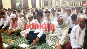 Sambut Awal Hijriah Doa Bersama Masjid Agung Kota Pembangunan Teknologi