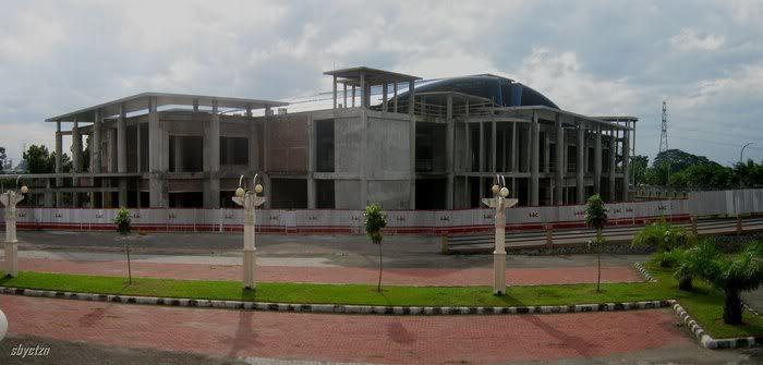 Convention Hall Cbd Gumul Title Satu Proyek Mercusuar Bangunan Megah