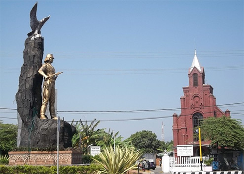 Kediri City Tourism Monumen Syu Kab