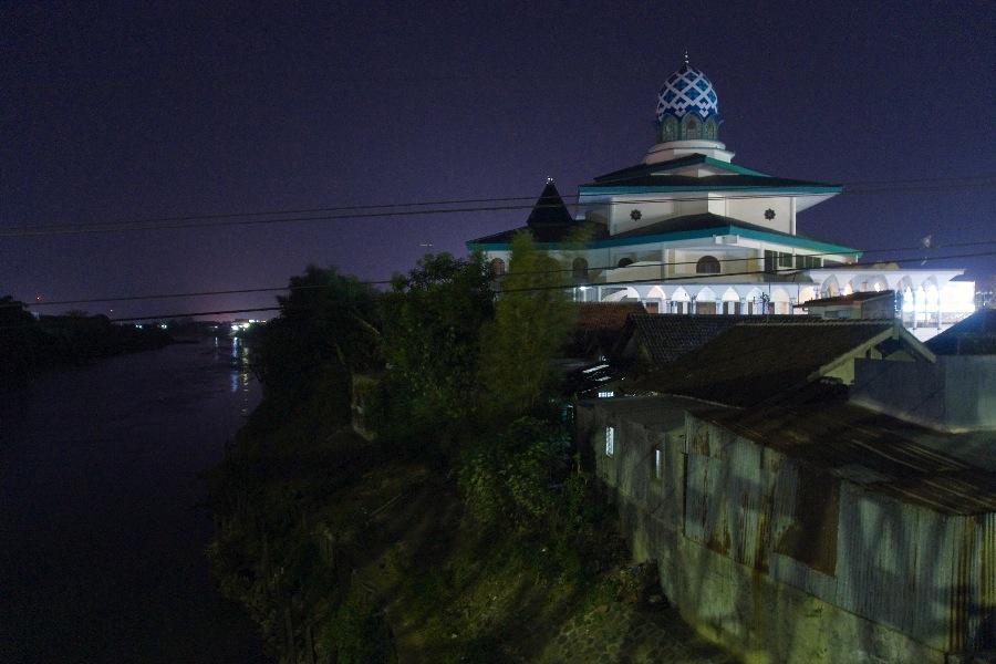 Masjid Agung Kediri Title Beribadah Kota Dipakai Sebagai Acara Agamaan