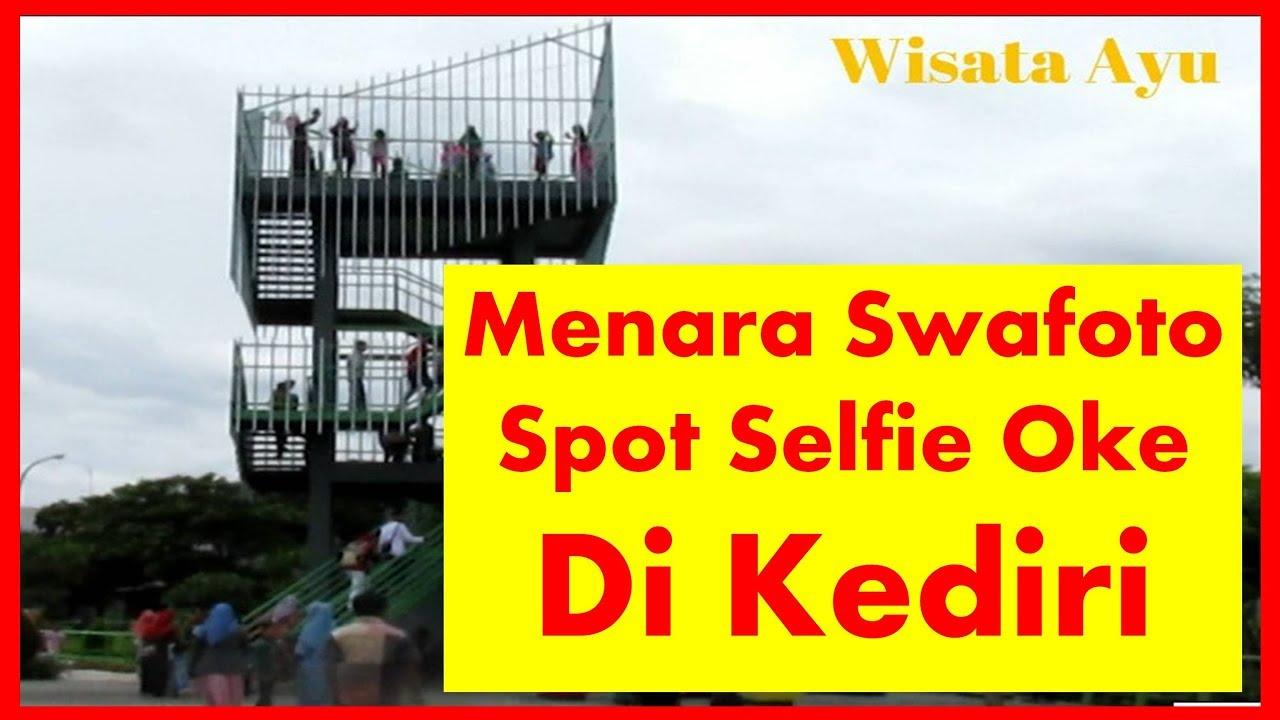 Menara Swafoto Taman Hijau Kediri Gumul Youtube Monumen Syu Kab