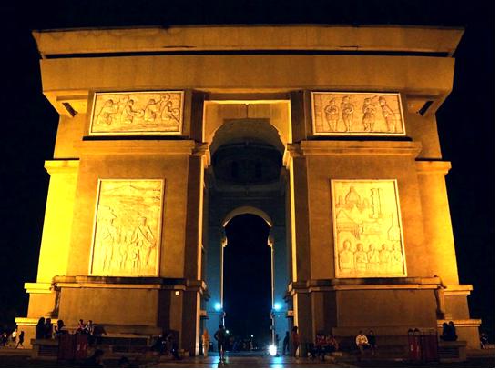 Mengenal Icon Kota Kediri Monumen Simpang Lima Gumul Kidung Kinanthi