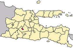 Kota Kediri Wikipedia Bahasa Indonesia Ensiklopedia Bebas Peta Lokasi Museum