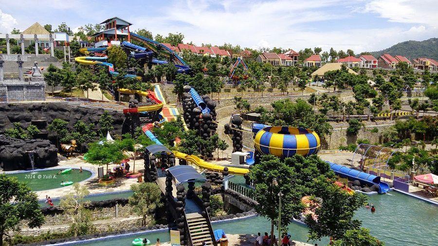 Ragam Tempat Wisata Kediri Terbaik Dikunjungi Waterpark Museum Fotografi Kab