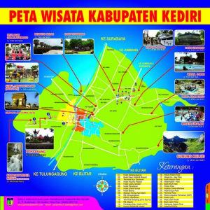 Wisata Kota Kediri Sinar Tour Travel Peta Museum Fotografi Kab
