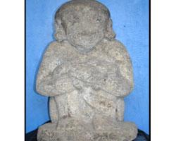 Koleksi Museum Airlangga Kota Kediri Patung Primitif Musium Kab