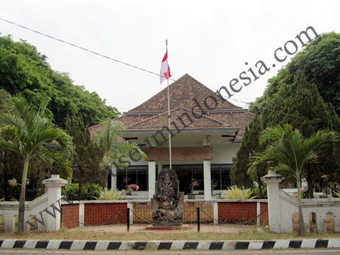 Museumindonesia Museum Airlangga Kediri Musium Kab
