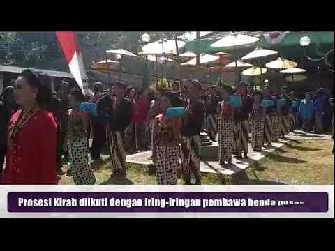 20170921 Ritual Kirab Petilasan Sri Aji Joyoboyo Youtube Jayabaya Kab