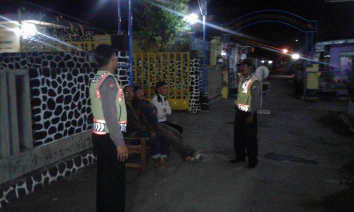 Polsek Pagu Patroli Tempat Wisata Petilasan Sri Aji Joyoboyo Jayabaya