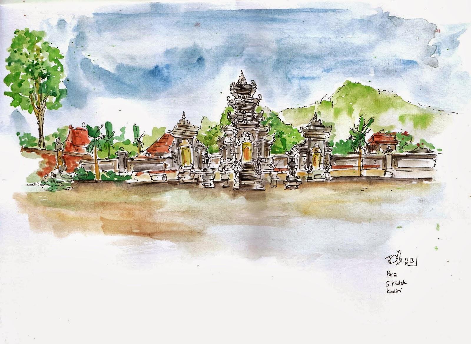 Blognya Dodoth Kediri Bingkai Sektsa Pura Penataran Agung Dewi Kiliuci