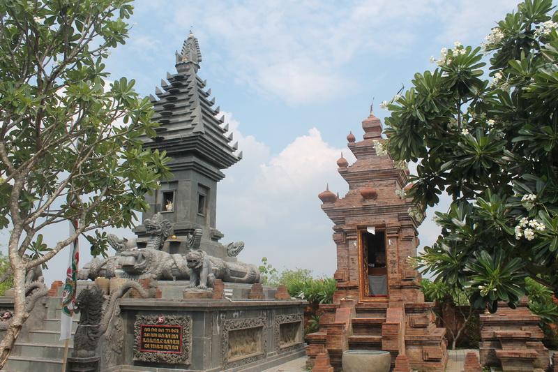 Pura Penataran Luhur Medang Kamulan Bimas Hindu Jawa Timur Terletak