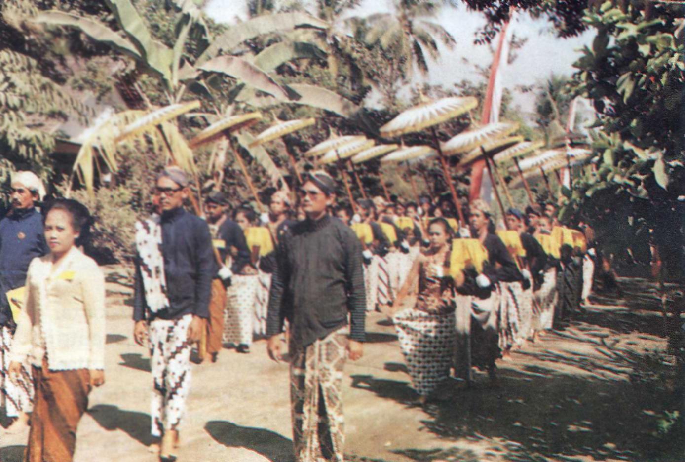 Sesaji Sri Aji Jayabaya Pusaka Jawatimuran Upacara Tradisional 1 Sura