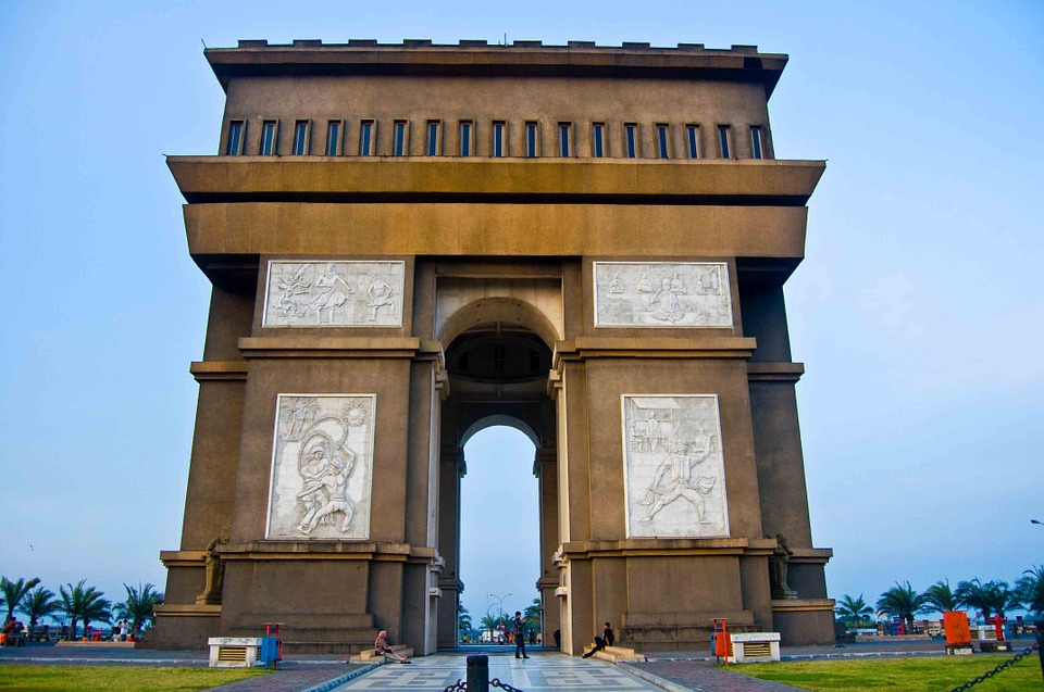 Gumul Simpang Lima Monument Kediri Free Photo Pixabay Arch Victory