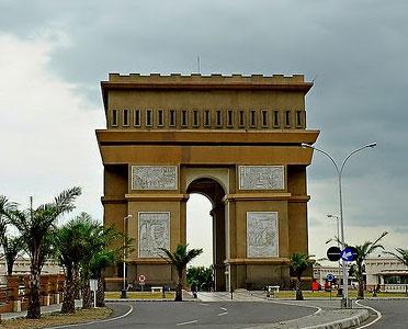 Sejarah Simpang Lima Gumul Kediri Jawa Timur Indonesia Nian Monumen