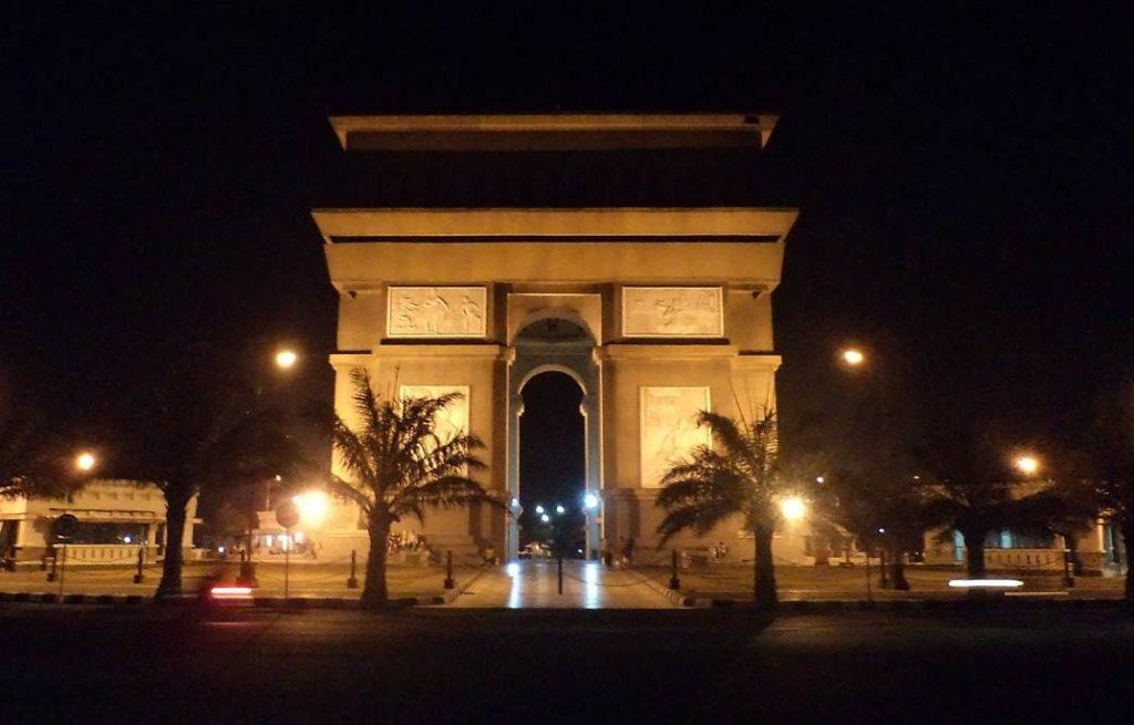 Simpang Lima Gumul Arc De Triomphe Indonesia Infokediri Sebuah Public