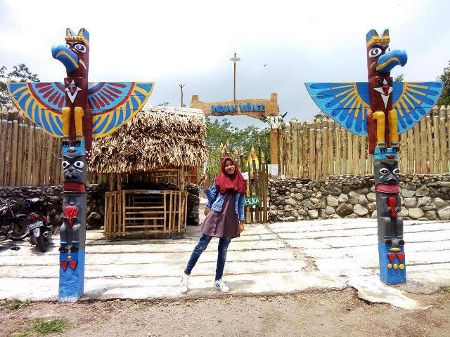 12 Tempat Wisata Kediri Jawa Timur Patut Dikunjungi Kampung Indian