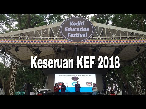Suasana Kediri Education Festival 2018 Video Taman Dewi Kilisuci Dahanapura