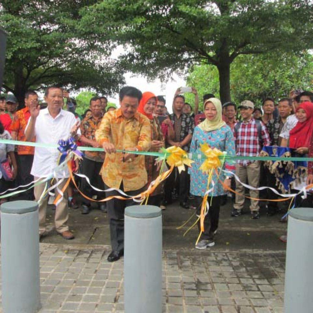 Bupati Kediri Resmikan Taman Hijau Slg Memo Update Berita Id