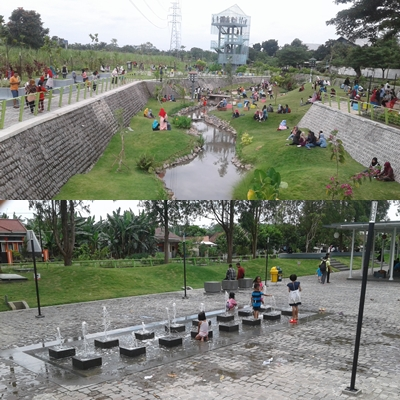 Taman Hijau Slg Sarana Hiburan Bagi Masyarakat Buah Pikir Area