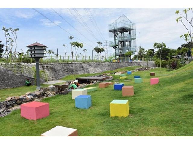 Uniknya Taman Hijau Slg Kediri Bindo13 Kab