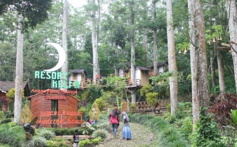Kampung Kelir Taman Kab Kediri