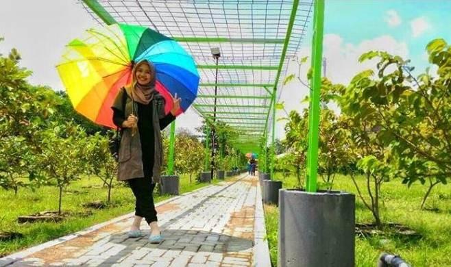 Kediri Tempat Wisata Indonesia Kebun Jambu Taman Kelir Kab