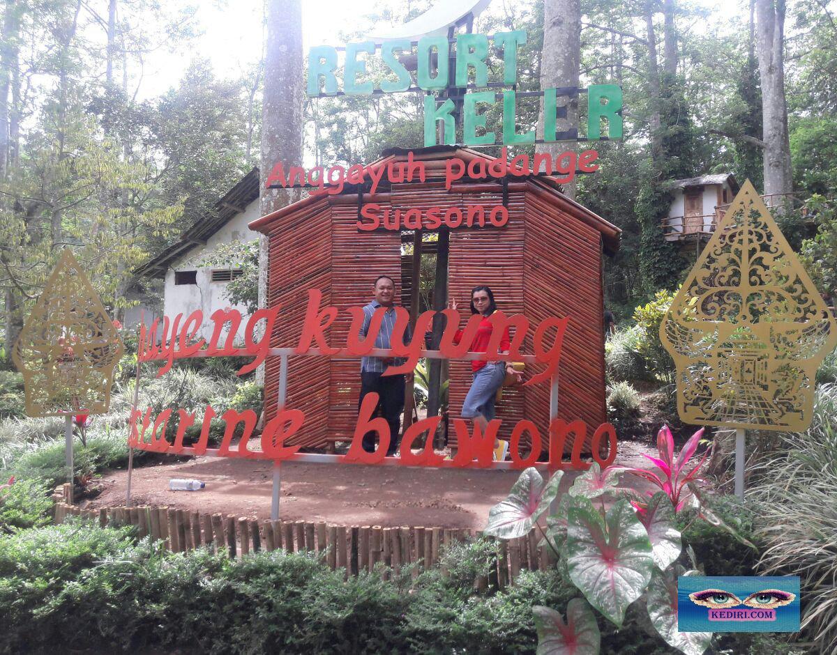 Resort Kelir Kediri Tempat Wisata Tengah Hutan Taman Kab