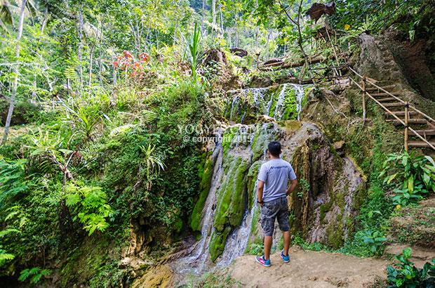 Taman Sungai Mudal Tak Sekedar Bermain Air Bawah Naungan Gunung