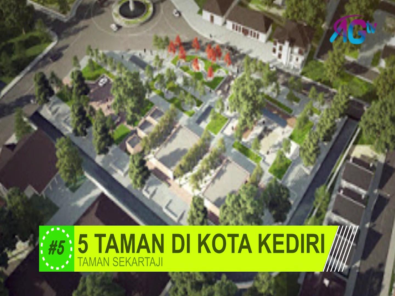 5 Taman Kota Kediri Agtvnews Berbagai Sekartaji Kab