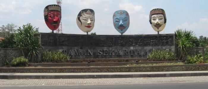 Budayapanji Konservasi Budaya Panji Jawa Timur Situs Gambyok Kediri Taman