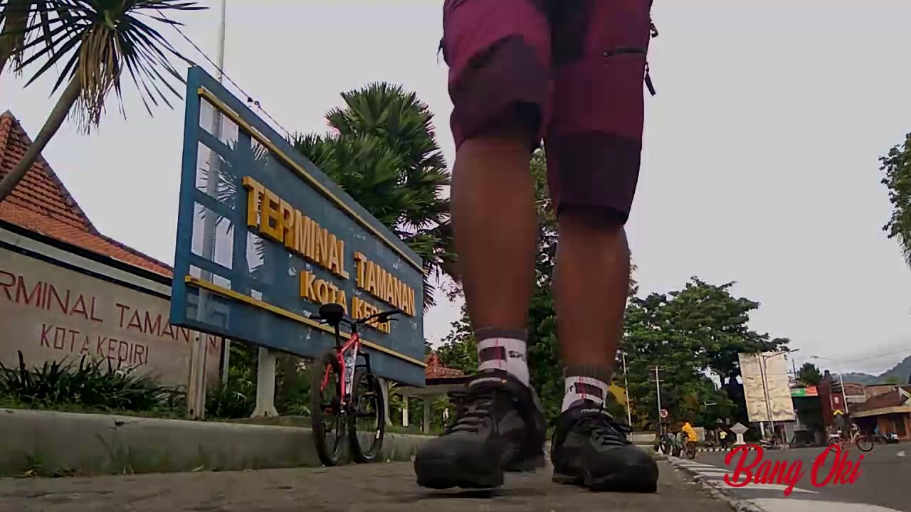 Gowes Taman Kelir Kabupaten Kediri Youtube Sekartaji Kab