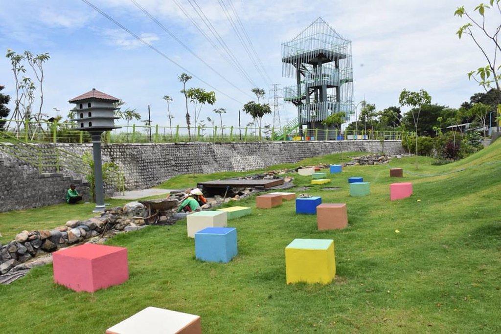 Kominfo Kab Kediri Twitter Taman Hijau Slg Indah Rindang Asri