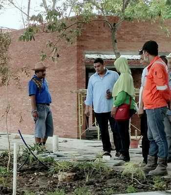 Pastikan Taman Sekartaji Selesai Tepat Waktu Harian Bhirawa Online Wali