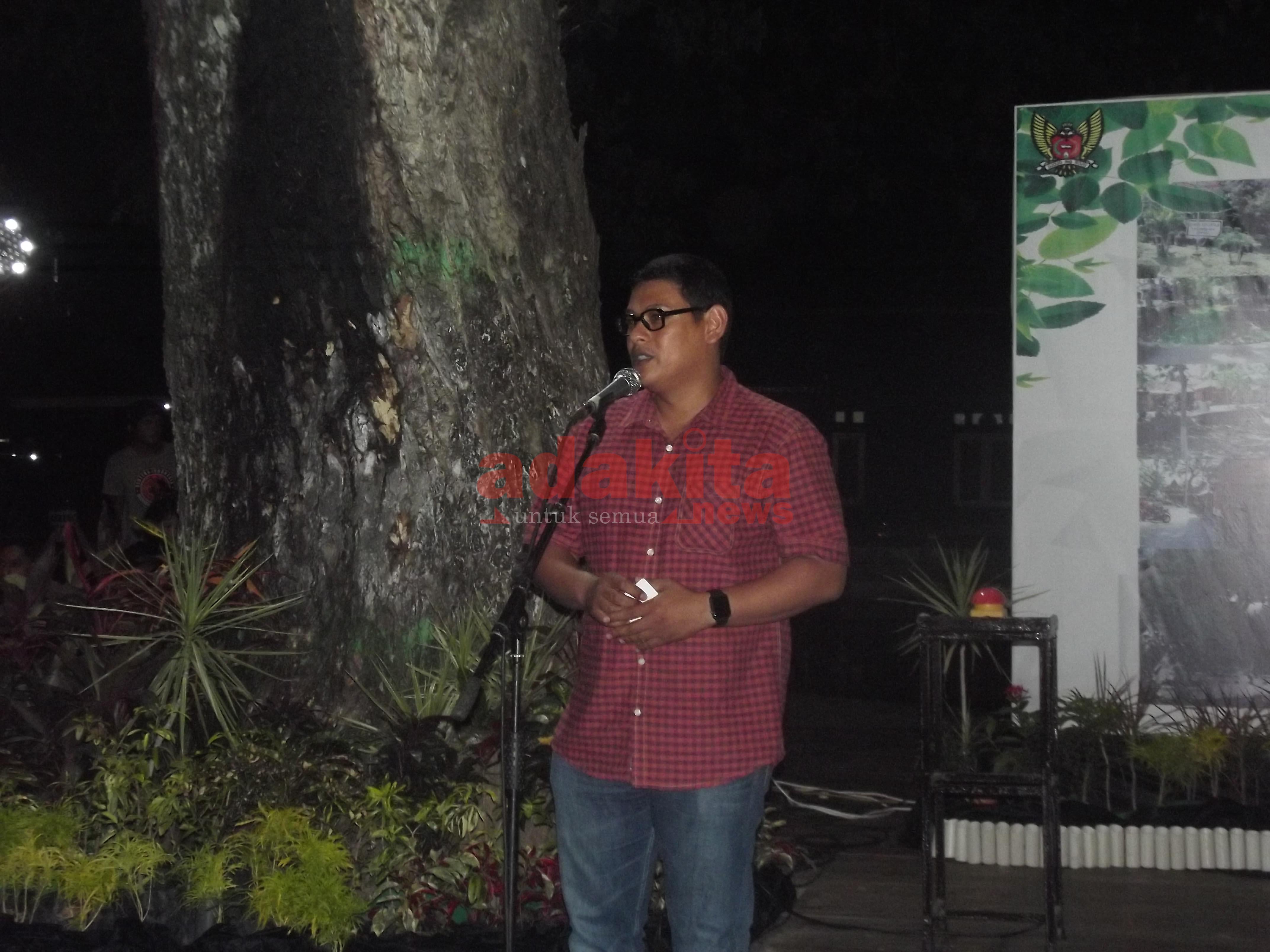 Taman Sekartaji Asap Rokok Adakitanews Kota Kediri Walikota Kab
