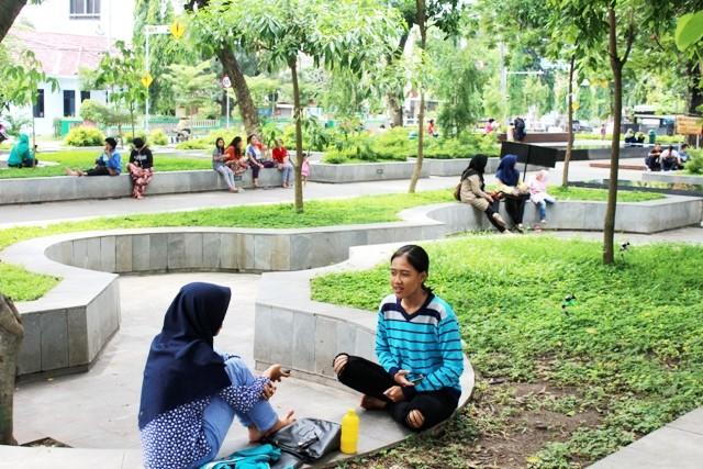 Taman Sekartaji Kediri Radar Sinergi Jawa Pos Kab