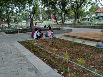 Wali Kota Kediri Jamin Keamanan Taman Sekartaji Harian Bhirawa Online