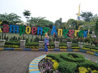 Asrinya Kampung Anggrek Travelling Taman Wisata Tirtoyoso Park Kab Kediri