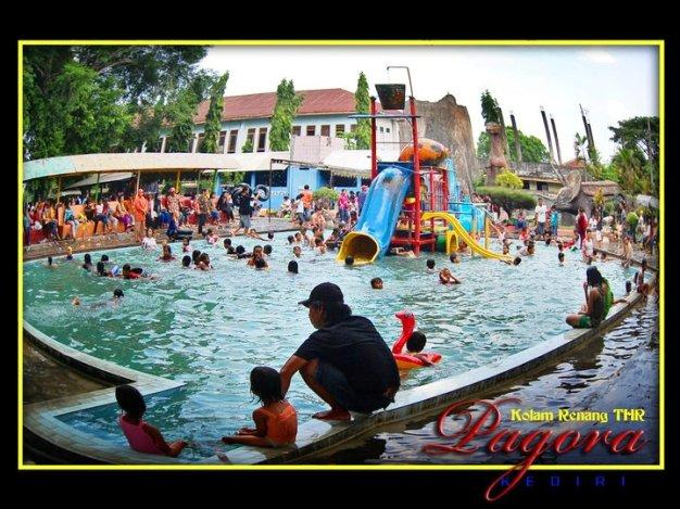 Pemandian Pagora Kota Kediri Taman Wisata Tirtoyoso Park Kab
