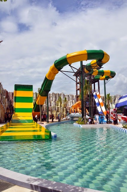 Tempat Wisata Kediri Taman Tirtoyoso Park Kab