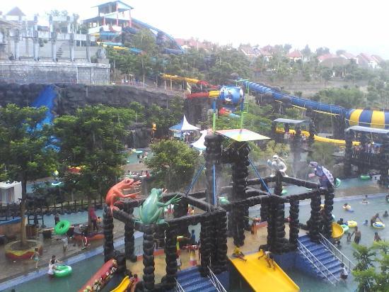 Tempat Wisata Udara Segar Ulasan Kediri Waterpark Taman Tirtoyoso Park