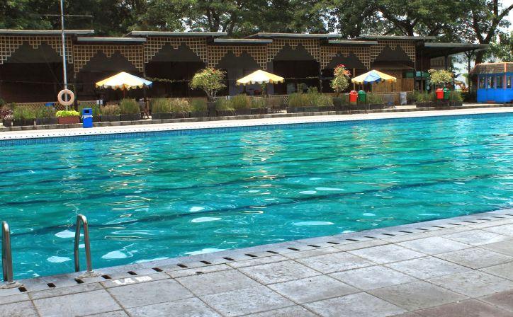 Tirtoyoso Swimming Pool Kediri Viva Hotel Taman Wisata Park Kab