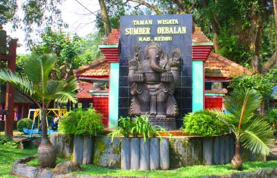 Paket Lengkap Taman Wisata Sumber Ubalan Kediri 1001wisata Kab