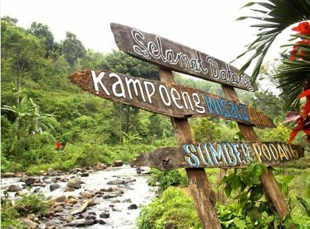 Wisata Alam Sumber Podang Dusun Karangnongko Desa Joho Kediri Jawa