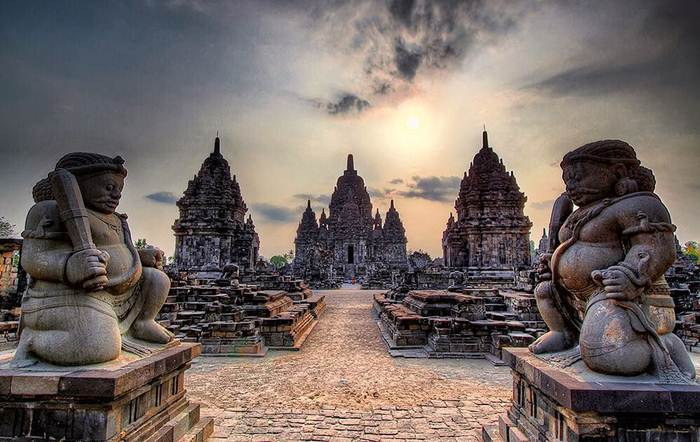 26 Tempat Wisata Klaten Terbaru Hits 2018 Candi Sewu Gana