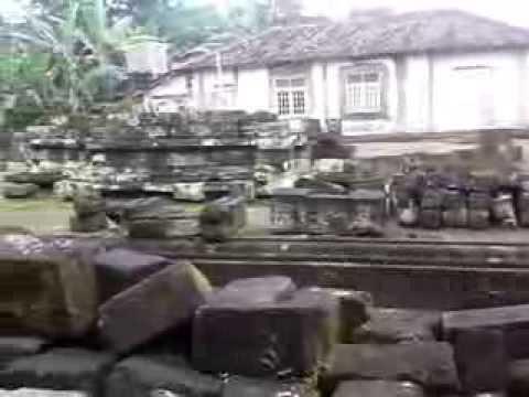 Menuju Reruntuhan Candi Gana Youtube Kab Klaten