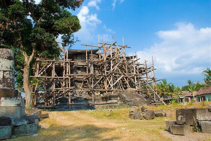 Sojiwan Temple Klaten Regency Candi Gana Kab